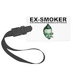 Ex-Smoker Large Luggage Tag