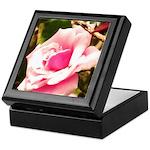 Pink Plantation Rose Keepsake Box