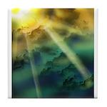 Cloudy Skies Tile Coaster