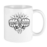 Fist City Knuckle Tattoo Mug