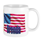 Brenda Personalized USA Flag Mug