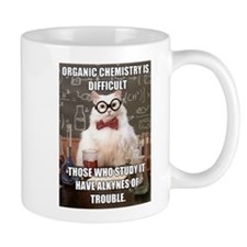 Chemistry Cat Small Mug