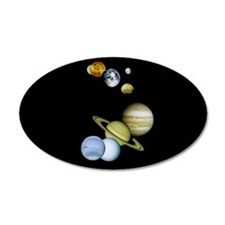 Planet Panorama Wall Decal