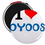 I Love Oyoos design Magnet