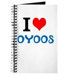 I Love Oyoos design Journal