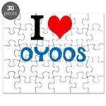 I Love Oyoos design Puzzle