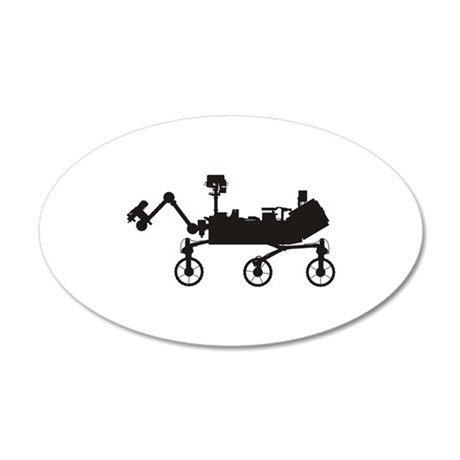 Mars Science Laboratory 20x12 Oval Wall Decal