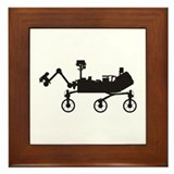 Mars Science Laboratory Framed Tile