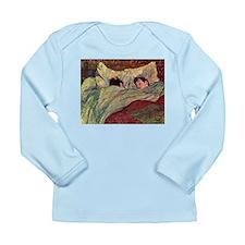 Toulouse Lautrec Sleeping Long Sleeve Infant T-Shi