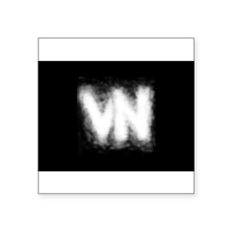 "VN Logo Square Sticker 3"" x 3"""