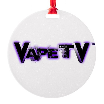 VapeTV Round Ornament