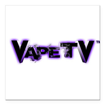 """VapeTV Square Car Magnet 3"""" x 3"""""""