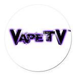 VapeTV Round Car Magnet