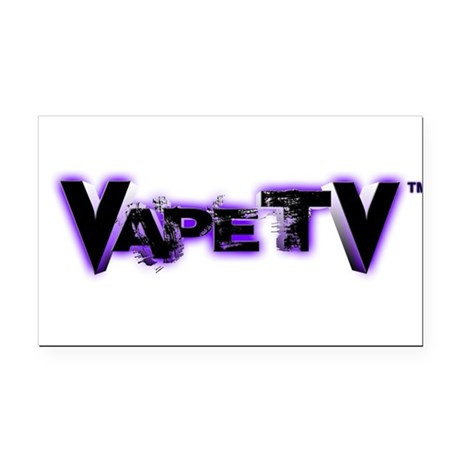 VapeTV Rectangle Car Magnet