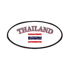 Thailand Flag Designs Patches