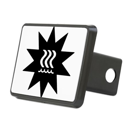 Technofogger Rectangular Hitch Cover