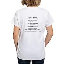 Paws4Critters TShirt Backside Shirt