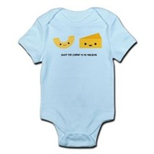 You're the cheese to my macaroni Infant Bodysuit