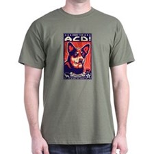 Unique Australian cattle dog christmas T-Shirt