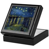 Van Gogh - Rhone Keepsake Box
