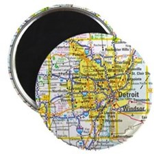 "Detroit Magnet - 2.25"" (10 pack)"