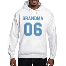 Blue Grandma 06 Hoodie