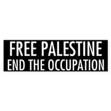 End the Occupation - Bumper Bumper Sticker