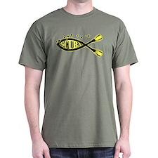 Scuba Blk Yellow T-Shirt