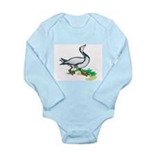 Goose Long Sleeve Infant Bodysuit