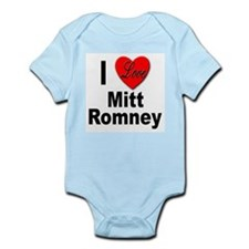 I Love Mitt Romney Infant Creeper