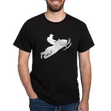 Sled Pic White T-Shirt