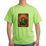 Doves Framed Green T-Shirt