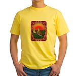 Doves Framed Yellow T-Shirt