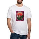 Doves Framed Fitted T-Shirt