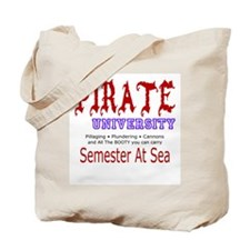 Authentic Ye Old Pirate  Tote Bag