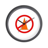 No Cones Autocross Wall Clock