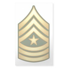 Sergeant Major Decal