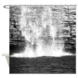 Waterfall Photograph Shower Curtain