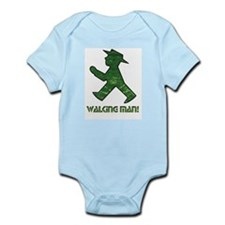 Berlin Walking Man Infant Creeper