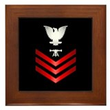 Navy Fire Control Technician First Class Framed Ti