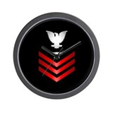 Navy Fire Control Technician First Class Wall Cloc