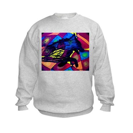 Wolf Spirit Kids Sweatshirt
