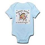 Cute Future artist Infant Bodysuit