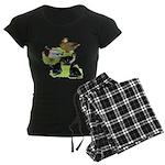 Gray Call Family Women's Dark Pajamas
