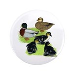 """Gray Call Family 3.5"""" Button (100 pack)"""
