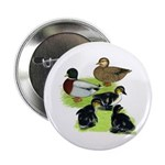 """Gray Call Family 2.25"""" Button (10 pack)"""