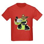 Gray Call Family Kids Dark T-Shirt