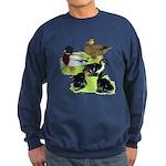 Gray Call Family Sweatshirt (dark)