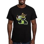Gray Call Family Men's Fitted T-Shirt (dark)