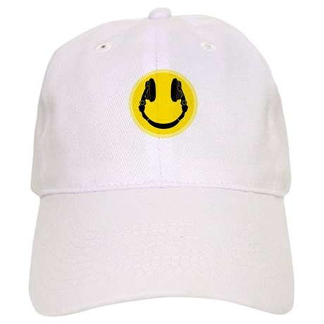 DJ Smiley Headphone Platter Cap